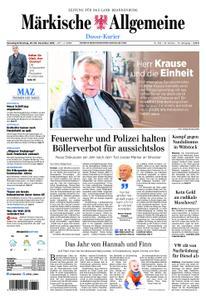 Märkische Allgemeine Dosse Kurier - 29. Dezember 2018
