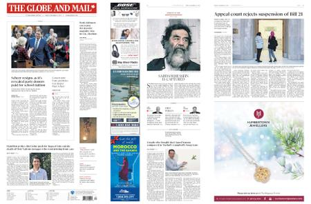 The Globe and Mail – December 13, 2019