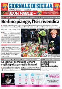 Il Giornale di Sicilia - 21 Dicembre 2016