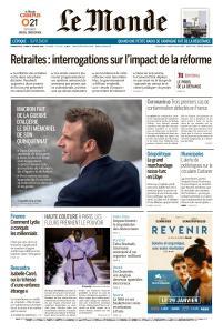 Le Monde du Dimanche 26 et Lundi 27 Janvier 2020