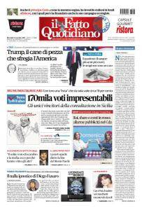 Il Fatto Quotidiano - 8 Novembre 2017