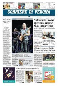 Corriere di Verona - 13 Febbraio 2018