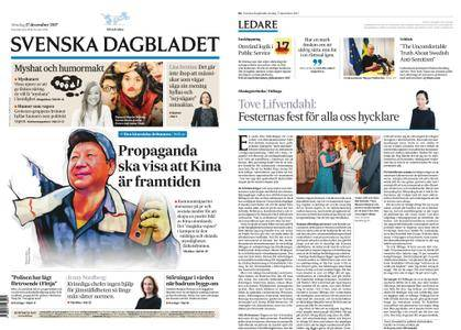 Svenska Dagbladet – 17 december 2017