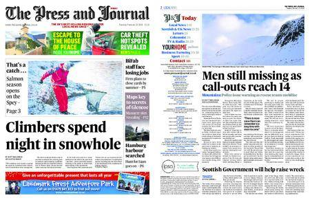The Press and Journal Moray – February 13, 2018