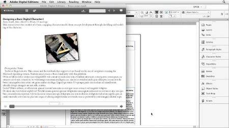 InDesign CS6: EPUB Kindle and iPad