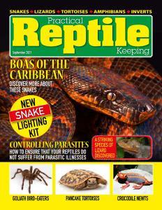 Practical Reptile Keeping - September 2021
