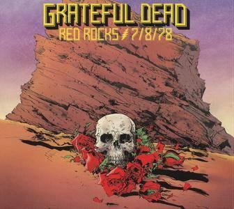 Grateful Dead - Red Rocks 7-8-78 (2016) {3CD, HDCD, Rhino 081227946876}