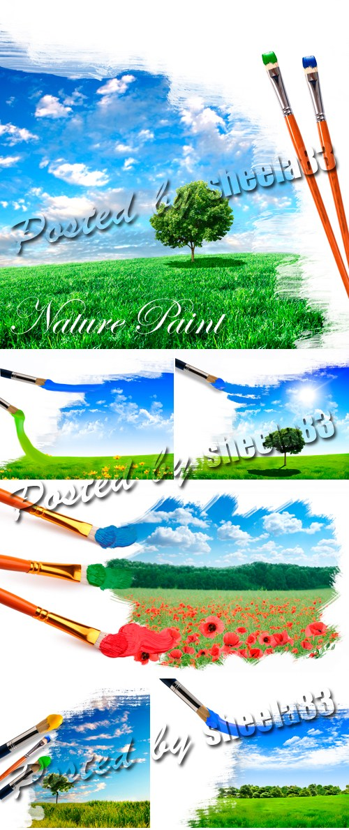 Stock Photo - Nature Drawing 2