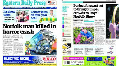 Eastern Daily Press – June 27, 2018
