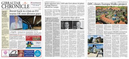 Gibraltar Chronicle – 08 September 2020