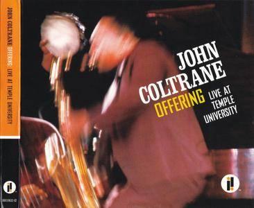 John Coltrane - Offering: Live At Temple University (2014) {2CD Set Impulse!-Resonance Records B0019632-02 rec 1966}
