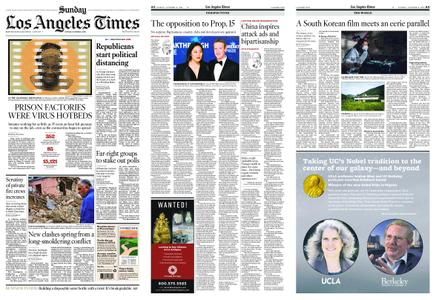 Los Angeles Times – October 11, 2020