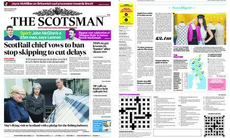 The Scotsman – March 30, 2018