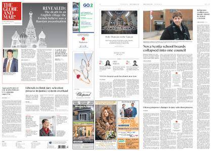 The Globe and Mail – March 30, 2018