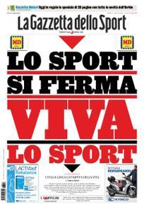 La Gazzetta dello Sport – 14 marzo 2020