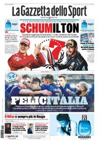 La Gazzetta dello Sport Roma – 16 novembre 2020