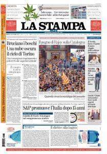 La Stampa Torino Provincia e Canavese - 28 Ottobre 2017