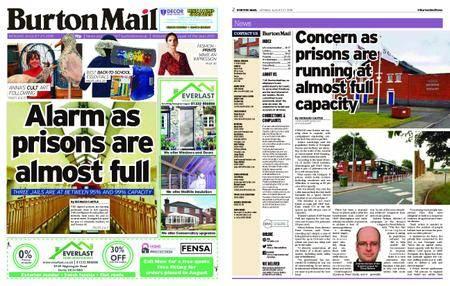 Burton Mail – August 27, 2018