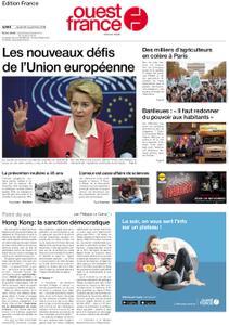 Ouest-France Édition France – 28 novembre 2019
