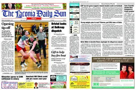 The Laconia Daily Sun – December 01, 2017