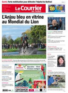 Le Courrier de l'Ouest Nord Anjou – 24 octobre 2021