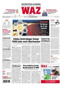 WAZ Westdeutsche Allgemeine Zeitung Oberhausen-Sterkrade - 12. September 2017