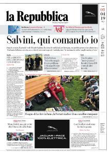 la Repubblica - 1 Aprile 2019