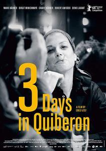 3 Days in Quiberon (2018) 3 Tage in Quiberon