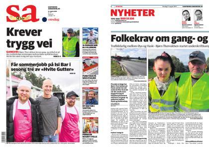 Sarpsborg Arbeiderblad – 21. august 2019