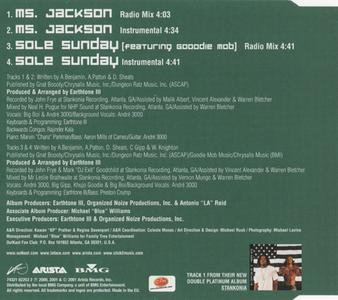 Outkast Ms Jackson Europe Cd5 2001 Laface Arista