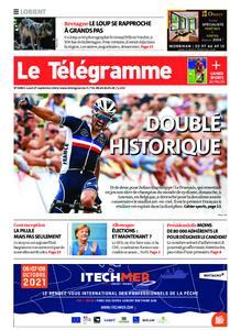 Le Télégramme Lorient – 27 septembre 2021