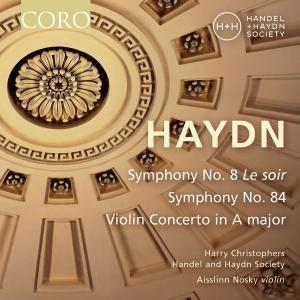 Handel and Haydn Society - Haydn: Symphonies Nos. 8 & 84 - Violin Concerto in A Major (2017) [Official Digital Download 24/96]