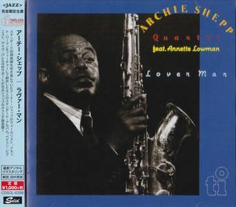 Archie Shepp Quartet feat. Annette Lowman - Lover Man (1988) {2015 Japan Timeless Jazz Master Collection Complete Series}