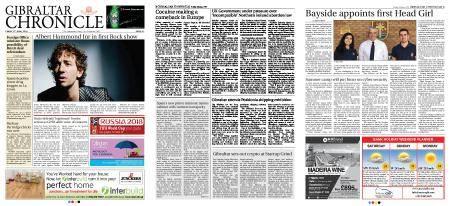 Gibraltar Chronicle – 08 June 2018