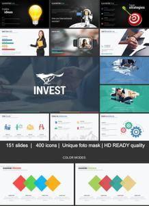 GraphicRiver - Invest GoogleSlides Template System
