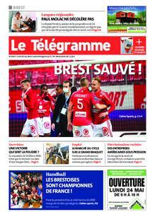 Le Télégramme Brest – 24 mai 2021