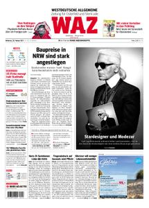 WAZ Westdeutsche Allgemeine Zeitung Oberhausen-Sterkrade - 20. Februar 2019