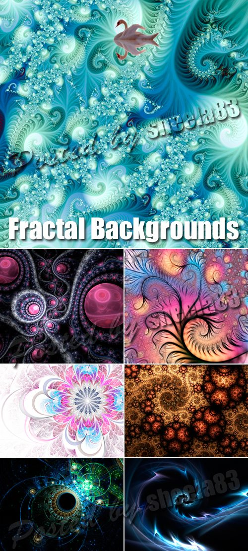 Stock Photo - Fractal Backgrounds