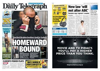 The Daily Telegraph (Sydney) – September 18, 2017