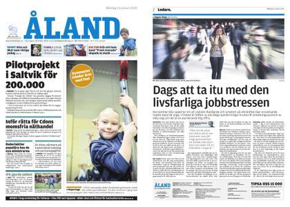 Ålandstidningen – 13 januari 2020