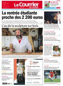 Le Courrier de l'Ouest Cholet – 18 août 2020
