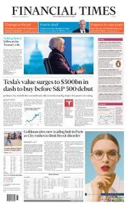 Financial Times Europe - November 25, 2020
