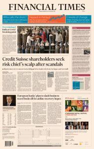 Financial Times Europe - April 26, 2021