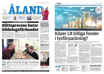 Ålandstidningen – 17 december 2018