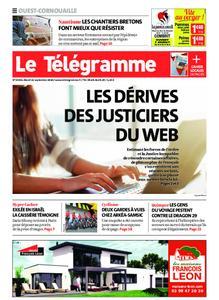 Le Télégramme Ouest Cornouaille – 22 septembre 2020