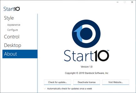 Stardock Start10 1.80