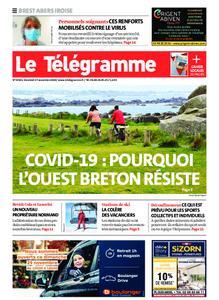 Le Télégramme Brest Abers Iroise – 27 novembre 2020