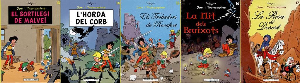 Jan i Trencapins (Johan y Pirluit) #13-16