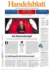 Handelsblatt - 27. August 2019