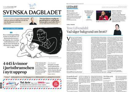 Svenska Dagbladet – 15 november 2017
